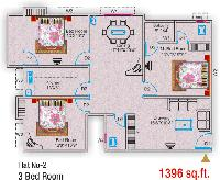 3 BHK FLAT available for Renting out