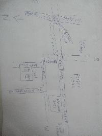 Residencial plot for sale near jail