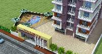 3bhk Delux Flat At Kankarbaagh With Swimmingpool And Many More...