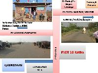 """Land With Doubled Corner Side , Two Way Roads, Close To Pitch Road In """"barepur"""" Punpun, Patna"""