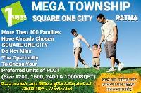 Residential Plots In Mega Township Square One City On Patna Bakhtiyarpur Four Lane Near Fatuha