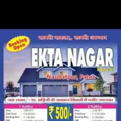 Ekta Nagar-2 Residential And Investmental Plots In Patna