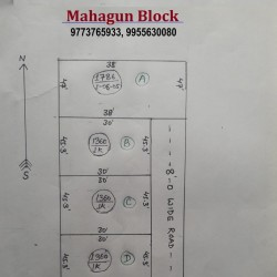 Mahagun Block  4 Lane Near Sandha Chapra Rs 660 Per Sqft