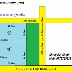 Plot For Sale On Nh 4 Lane Road 2 Side Road