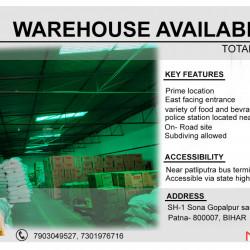 Warehouse Commercial Plot For Rent
