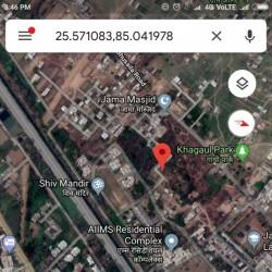 घर बनाने के लिए ज़मीन सिर्फ 32 लाख रुपये प्रति कट्ठा Muslim कॉलोनी में Saida नगर Phulwari Sharif Patna Mn  Call 7903707557, 9504351786