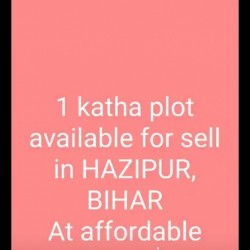 1 Katha Plot Available In Hajipur Patwatoli