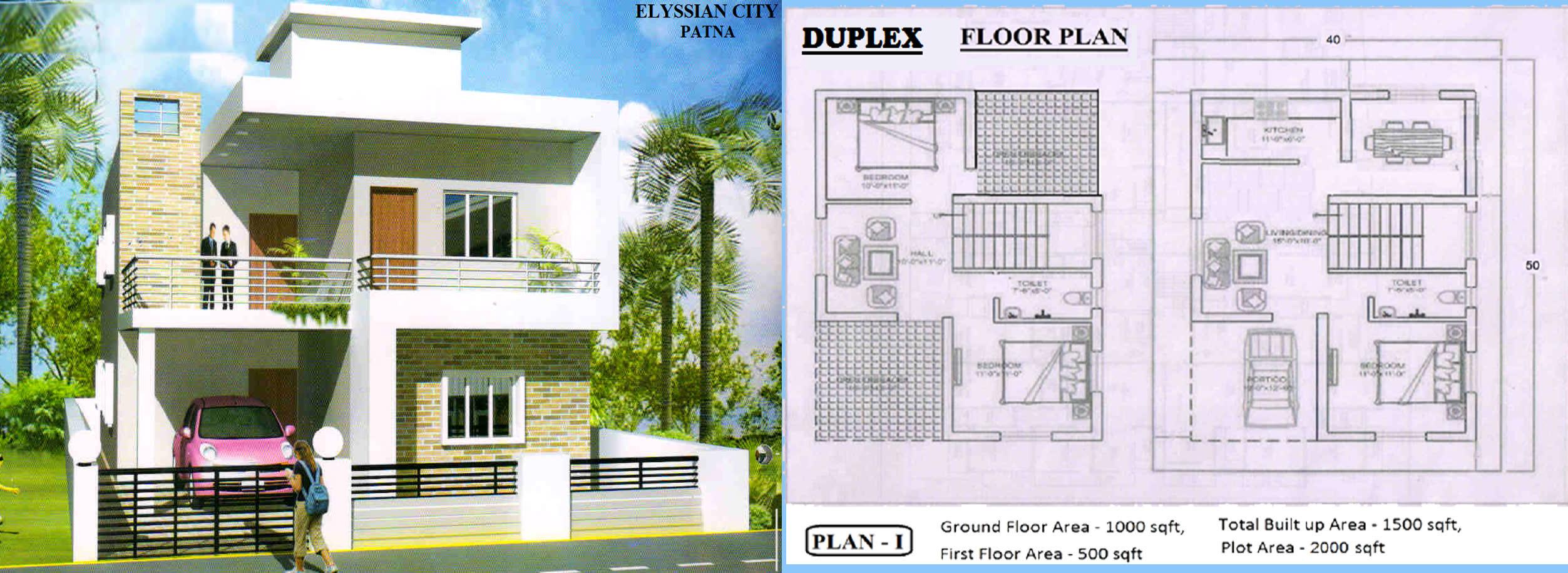 duplex in patna. Black Bedroom Furniture Sets. Home Design Ideas