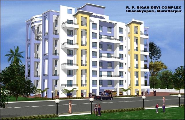 Newly Constructed 2 BHK Flat for Sale in RP Bigan Devi Complex