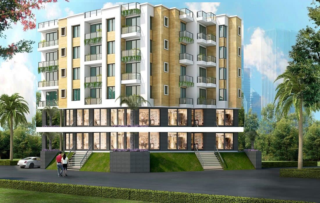 7 storeys complex available on Rent in Barharia Siwan