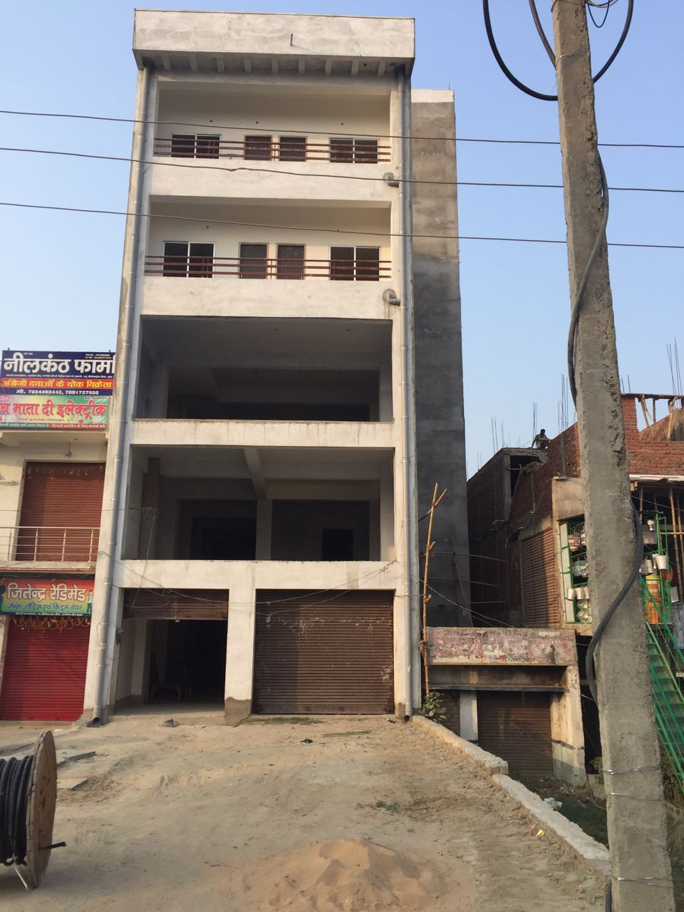 Commercial At Zero Mile Chowk- 2 Units Of Of 4500 Sqft Each Available For Rent For Showrooms, Malls, Multi-brand Outlet