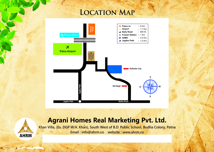A Biggest Township In Patna With Swimming Pool, Garden Park, Gym, Commercial Etc,