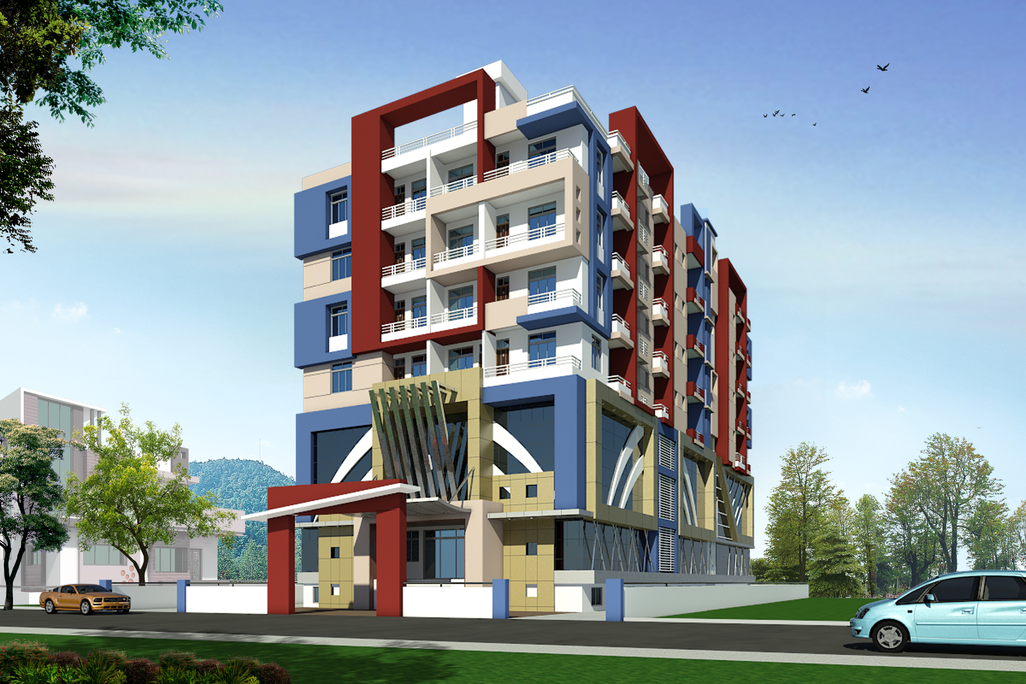 Commercial Flat For Sale In Khagaul Road