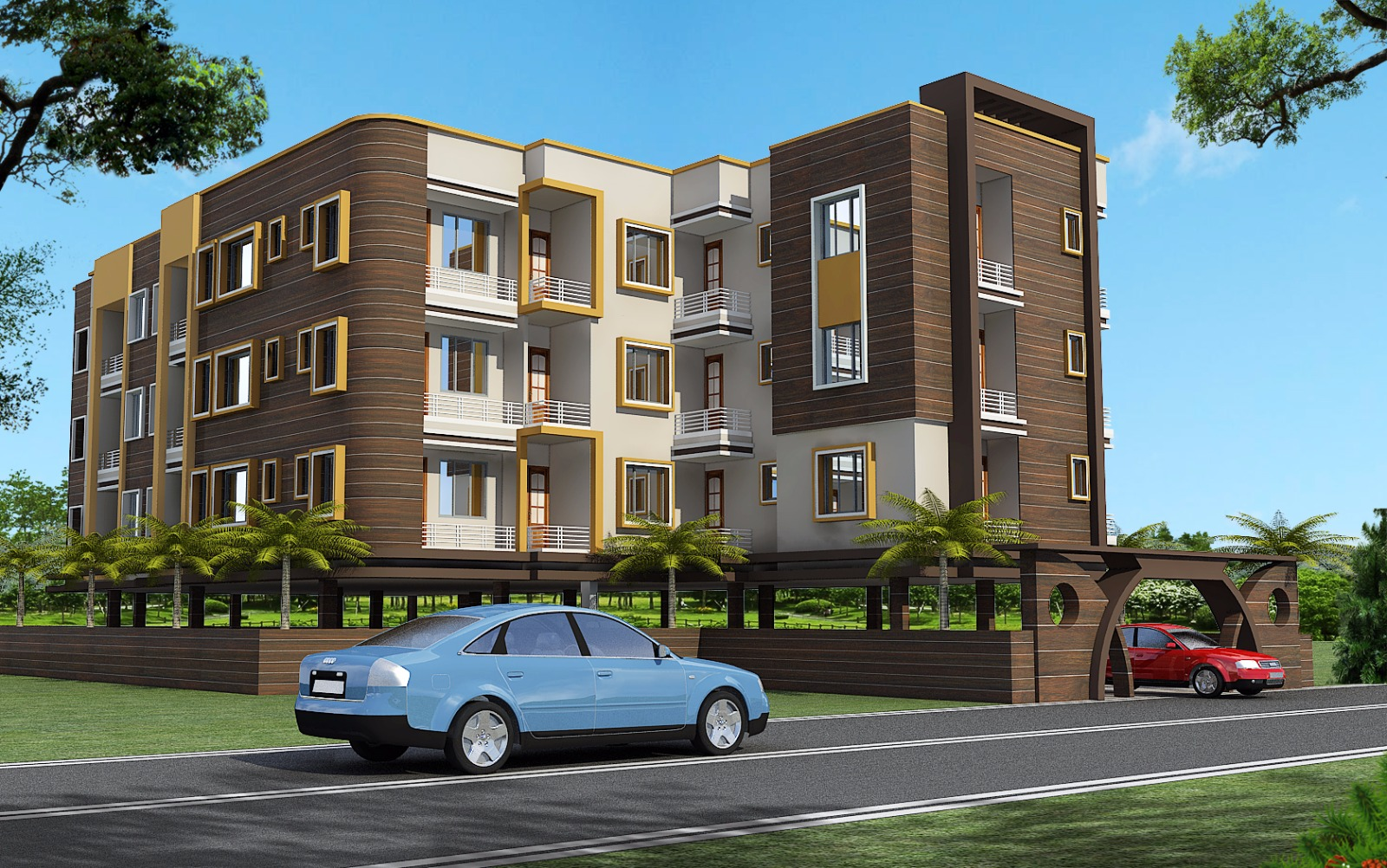 Residential Flat 2 Bhk, Apartment In Badra Gaighat Patna-07