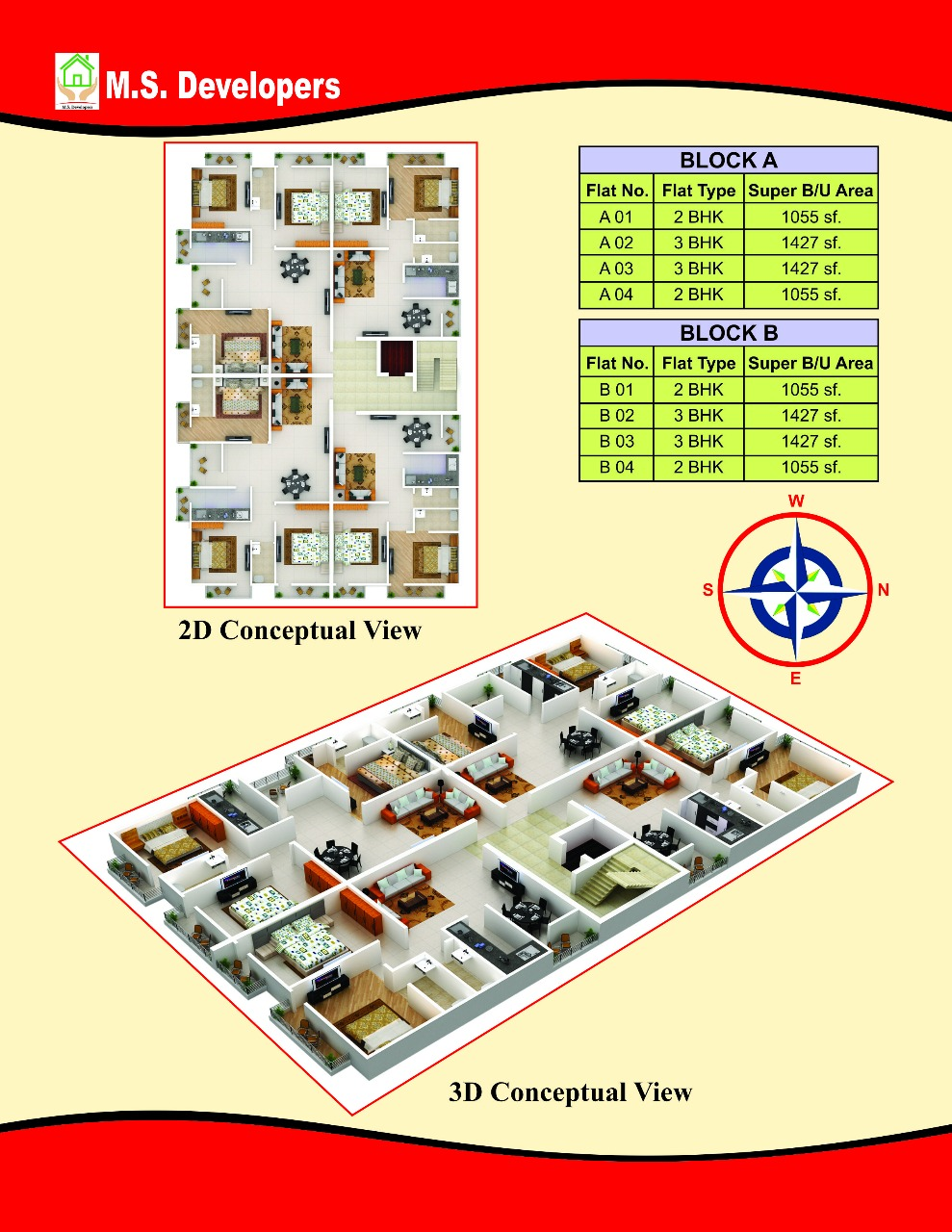 Residential Apartment for Sale in Patna