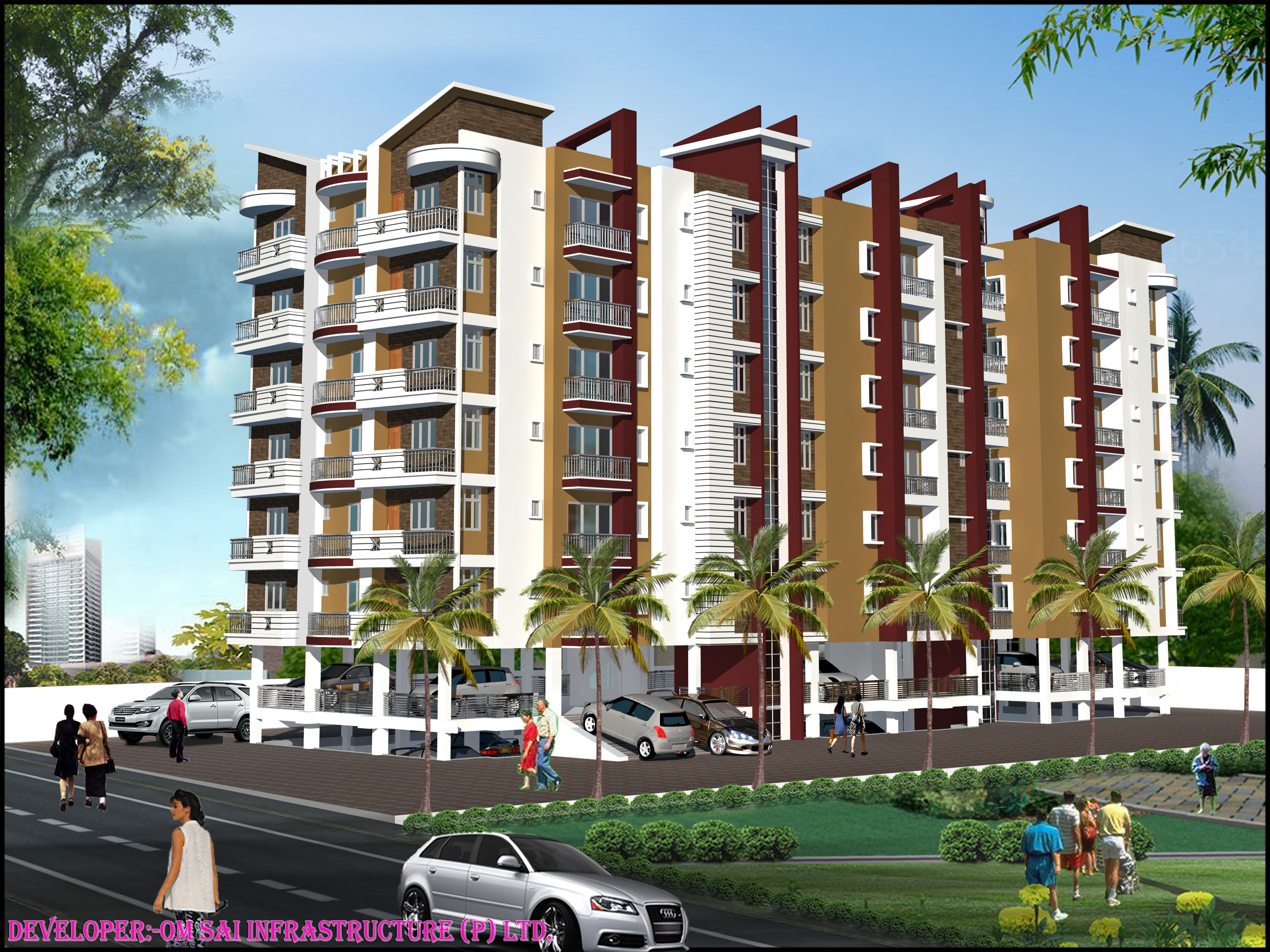 Flat For Sale In Danapur (mathiyapur) On Road At Rs 2500 Per Sq Ft