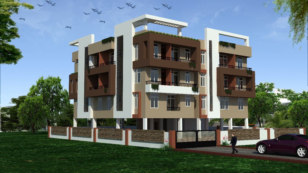 3 Bhk Super Delux Flat Available For Sale in Patna