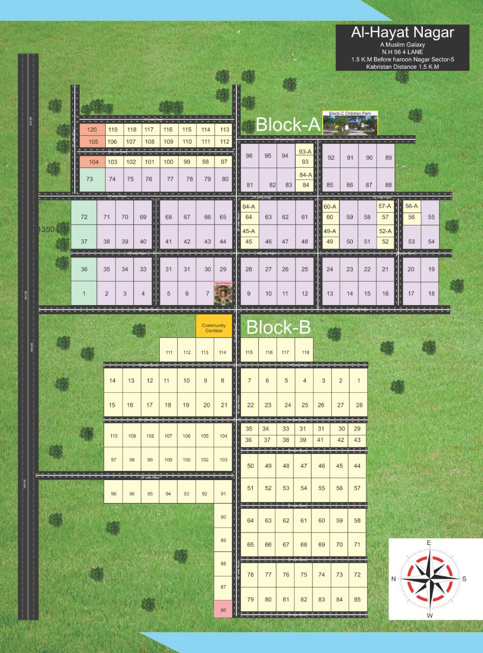 Alhayat Nagar Land for Sale in Patna