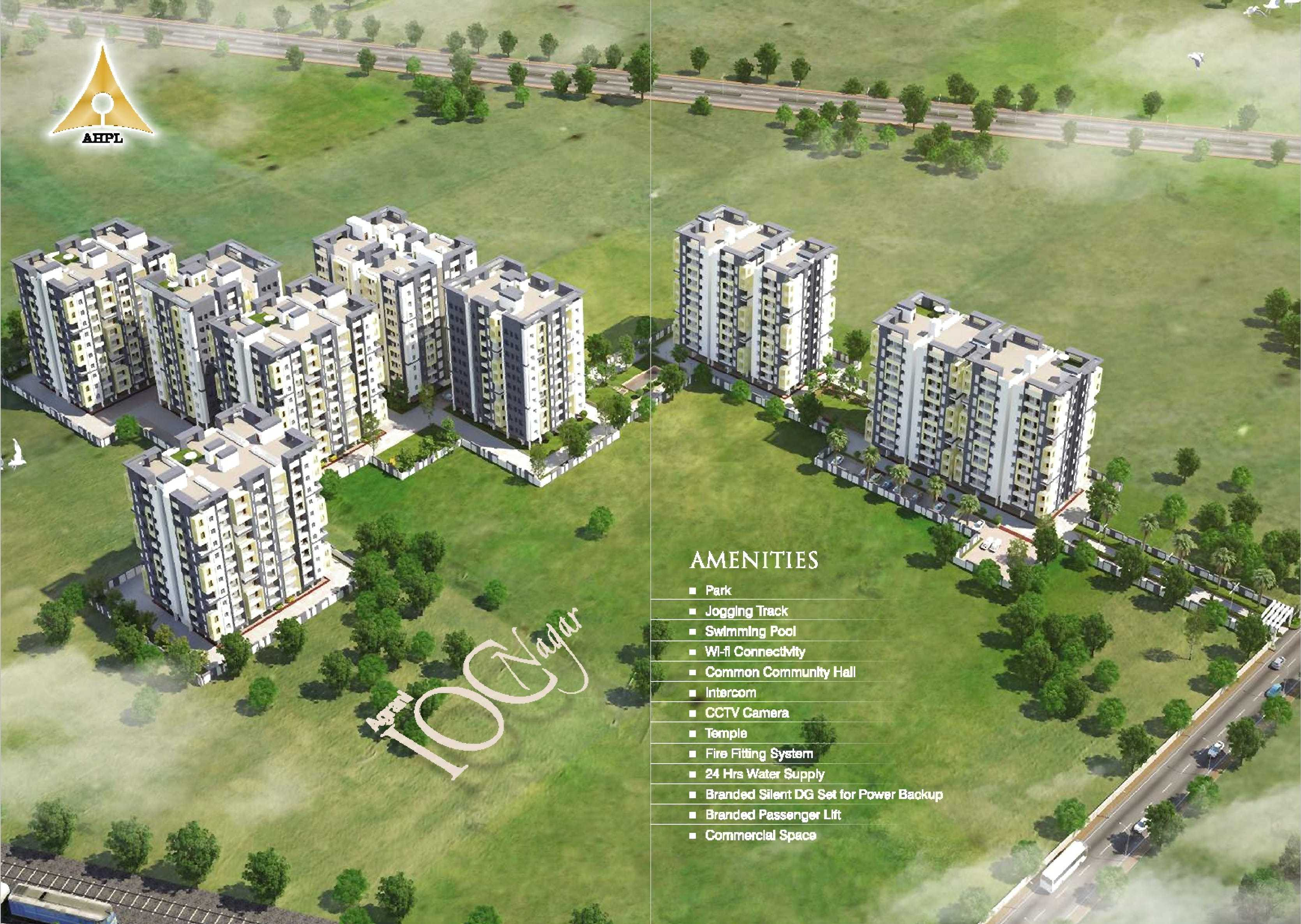 Residential Flat In Township Just 18 Lakh