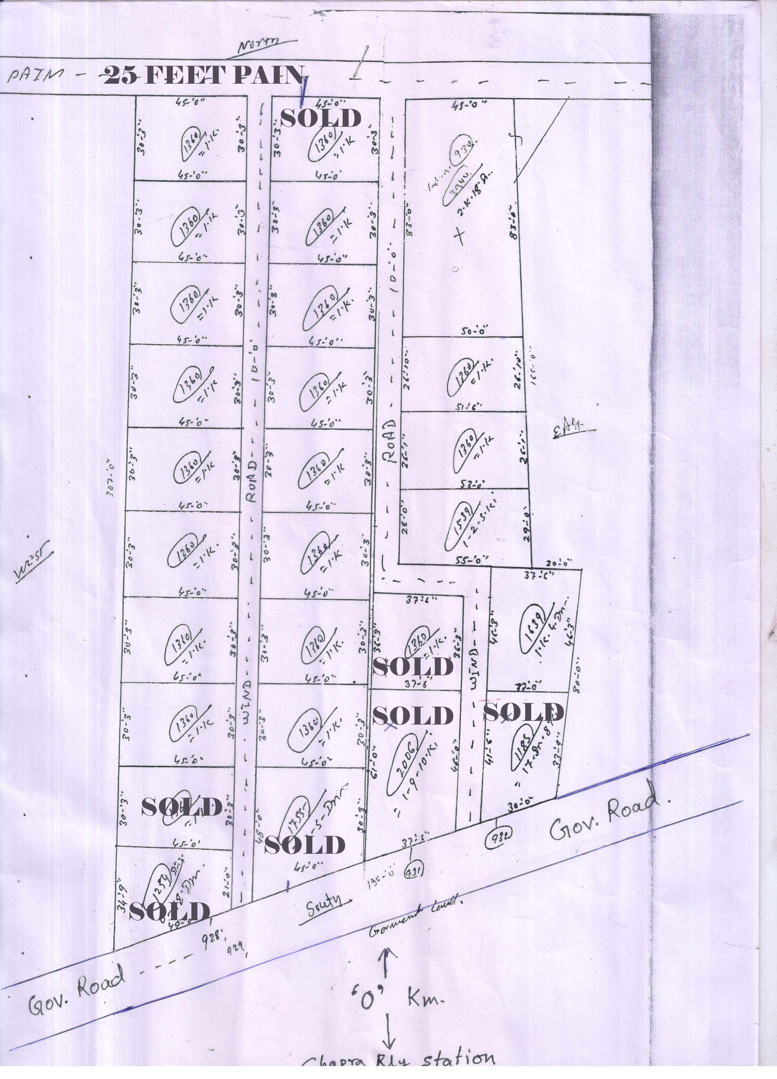 Residential Plot for Sale in Chhapra