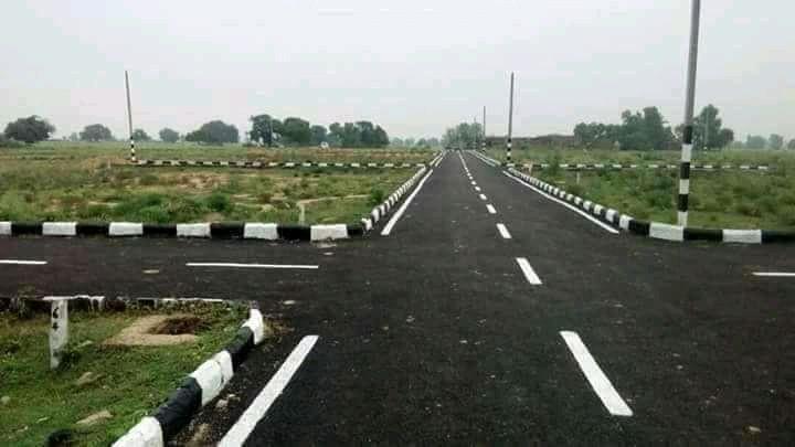 Nh139 On Highway Project Near Naubatpur Market
