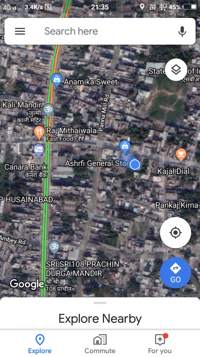 Commercial Or Residential Plot For Sale Near Balti Karkhana Chowk In Bhagalpur City
