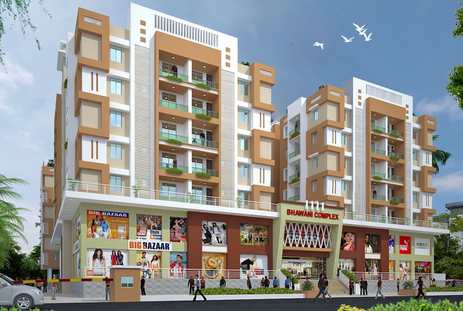 3 Bhk Flat For Sale In Bhawani Complex Hajipur