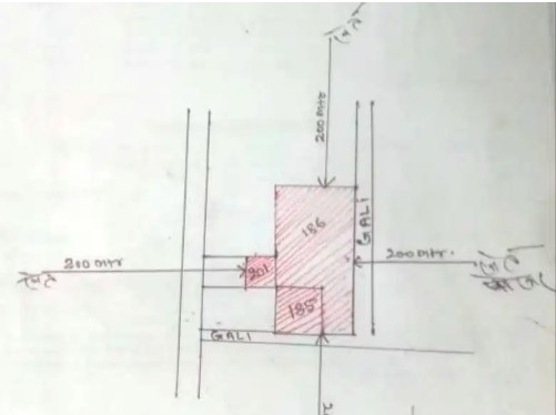 4.5 Katha Boundary Walled Plot With 3 Side Road