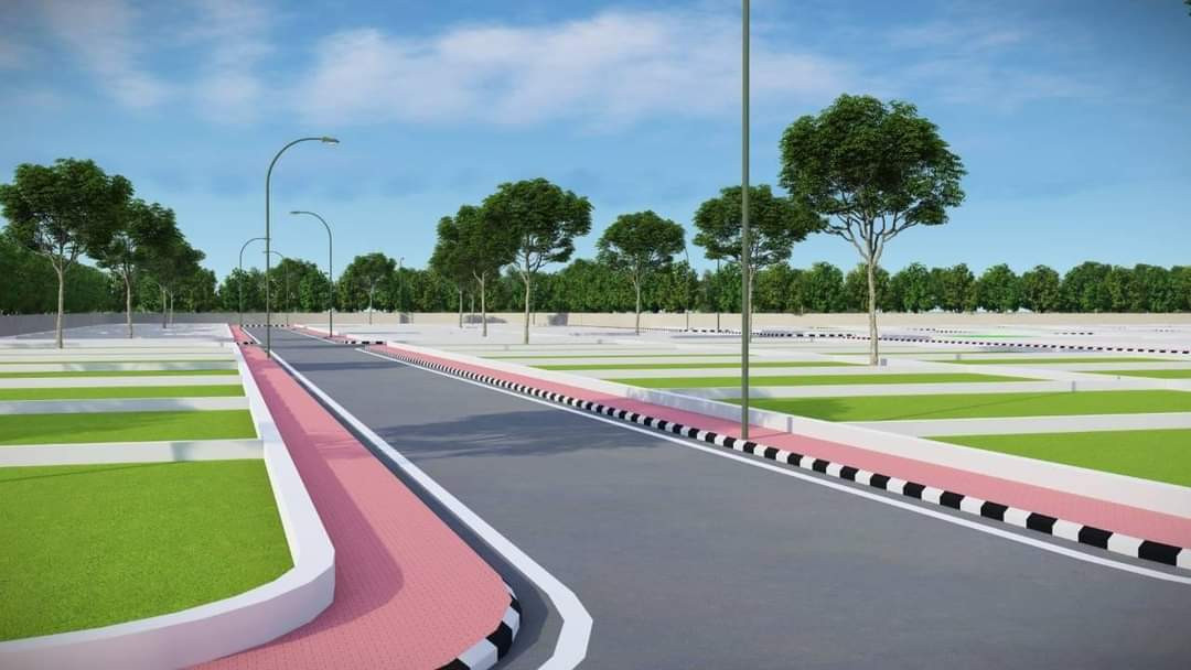 Nh 139 On Highway Project Near Naubatpur Market Sarmera Highway