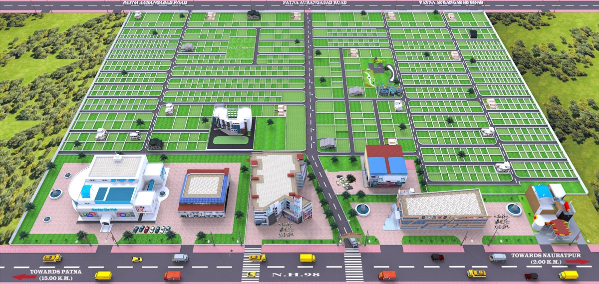 Residential Plots in Patna on National Highway Near AIIMS