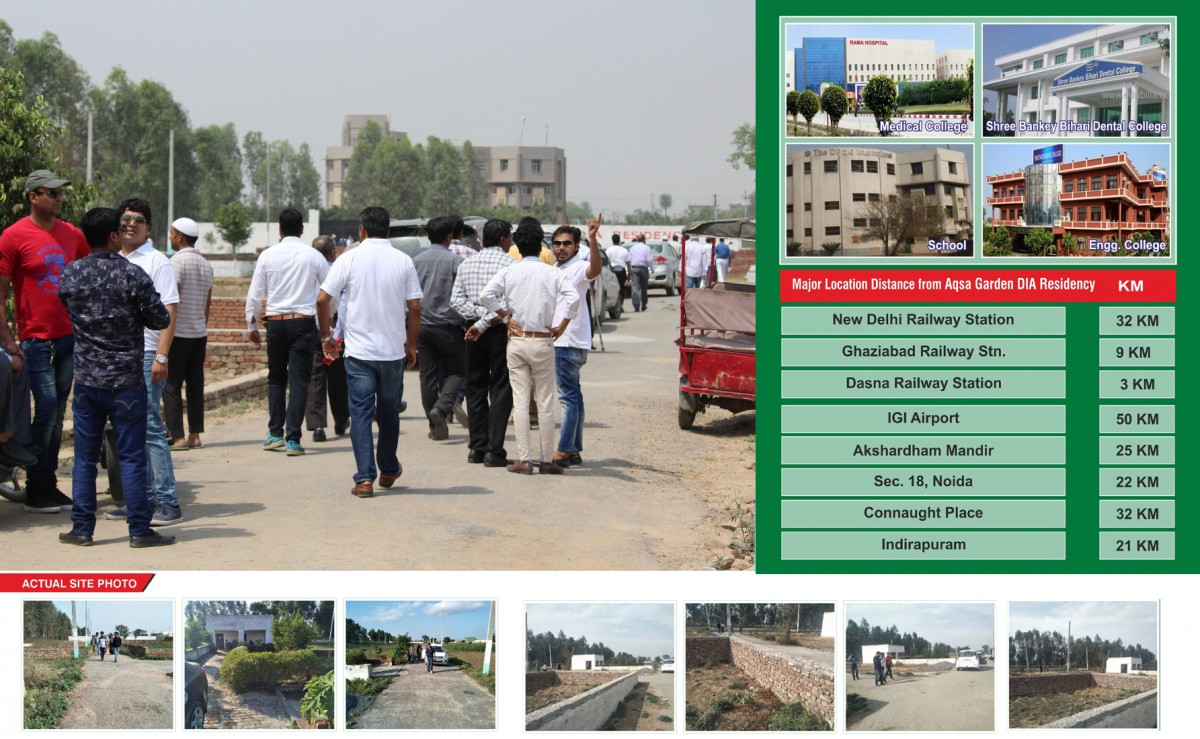 Buy Residential Plot Near Nh 24, Dasna - Delhi Ncr