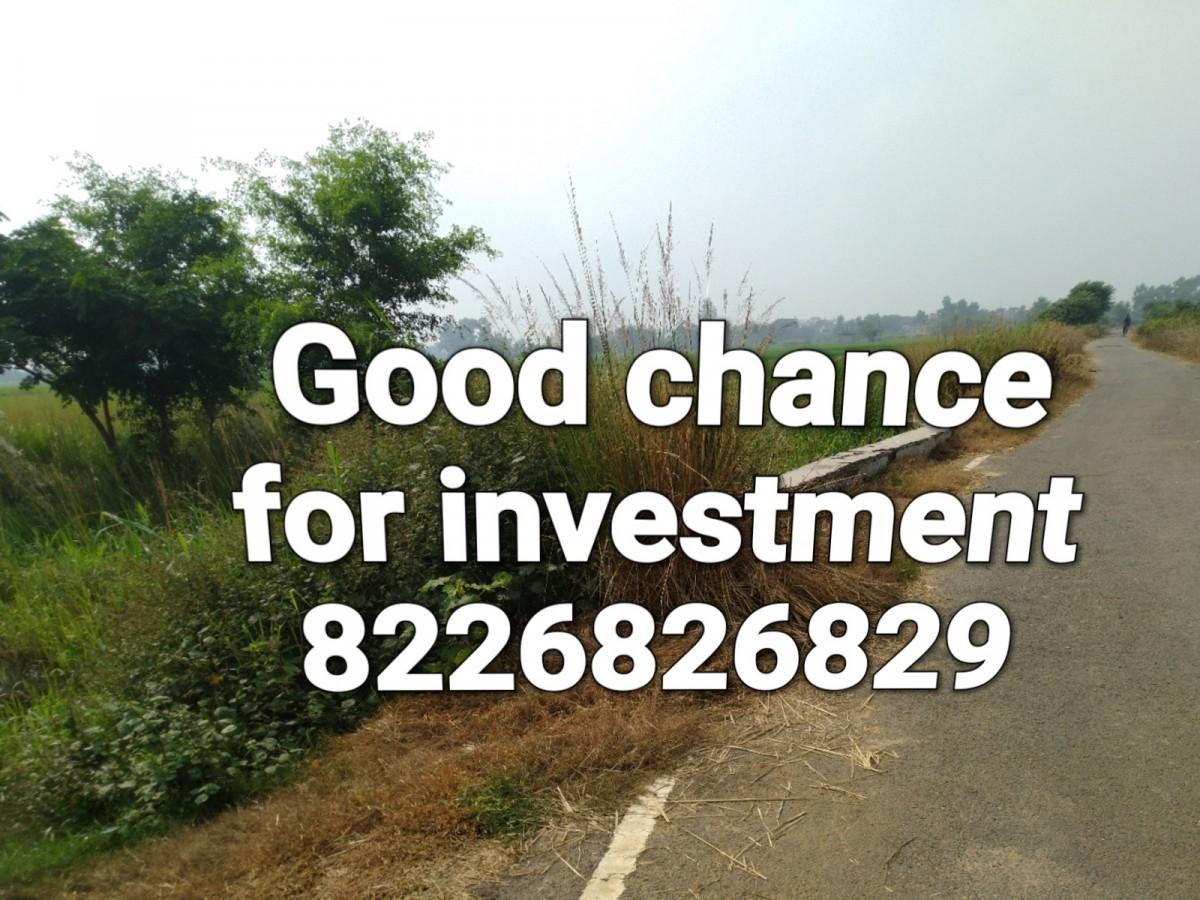 Plot Available For Sell In Dulhin Bazar Bharatpura, Paliganj