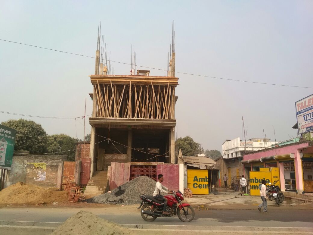 1600sq Feet Build Up Area In Each 1st & 2nd Floor At Rajni Choke Purnia