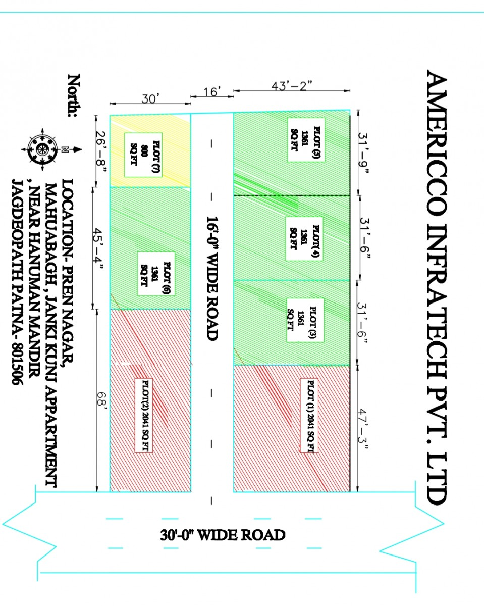 Freehold Plot In Jagdeopath Bailey Road Patna
