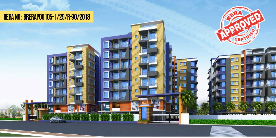 2 & 3 BHK FLAT NEAR PATNA AIIMS IN ROOFTECH ROYAL GARDEN PHASE-1