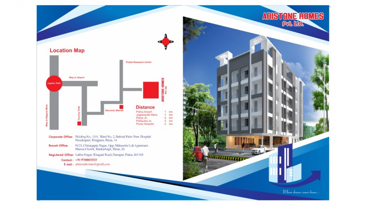 A Megha Township Project In Prime Location Of Patna Near Jagdeopath.