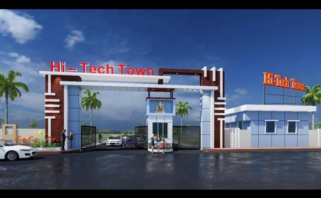 Hi-tech Toun  And Dream City Near Iit Bihata