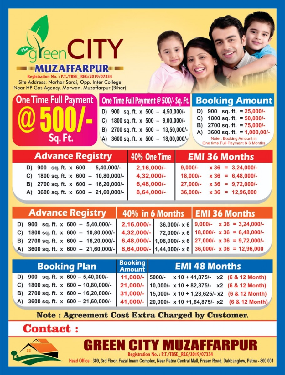 Green City Muzffarpur For Sale